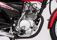 Low-loss 125cc SOHC engine