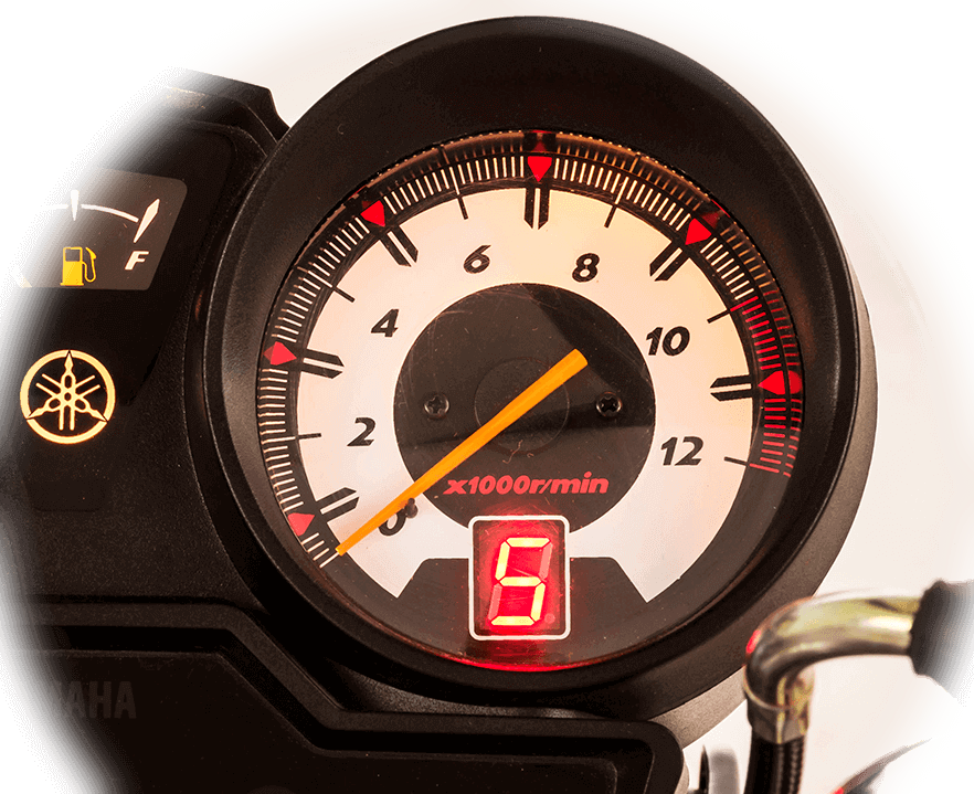 Instrument Cluster with Gear position indicator big image