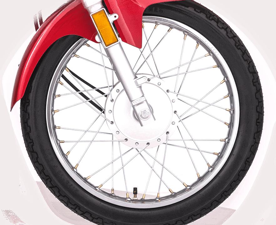 Spoke Wheels and Wide Rims  big image
