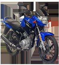 YBR125 Blue