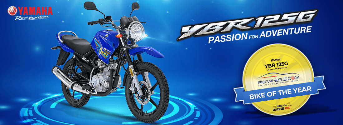 Bike of the year | Yamaha Motor Pakistan