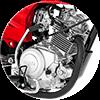 Low-loss 125cc SOHC Engine  thumbnail
