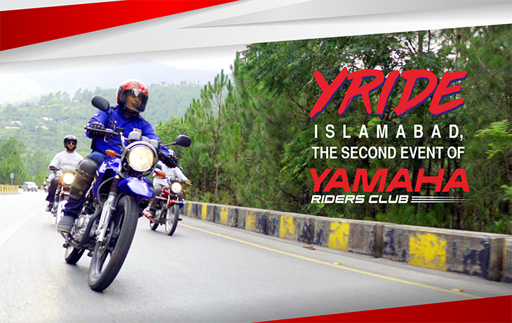 Y-Ride Islamabad, the Second Event of Yamaha Riders Club